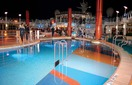 Бассейн вечером (Night Pool)