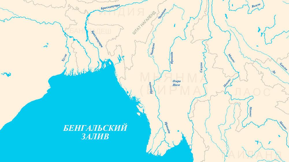Круизы из Мьянмы и Бирмы