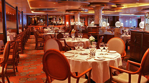 Основной ресторан Pacific Moon Dining Room
