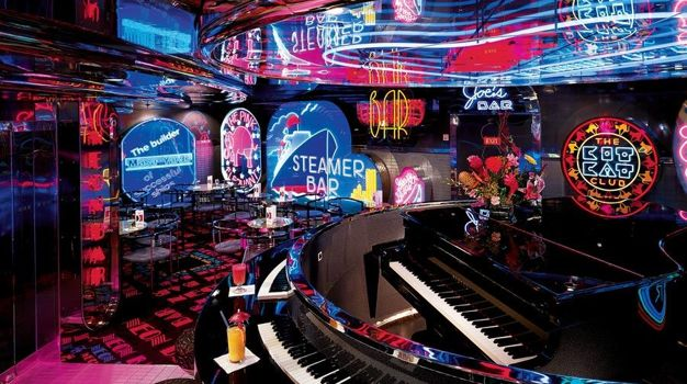 Бар The Neon Piano Bar