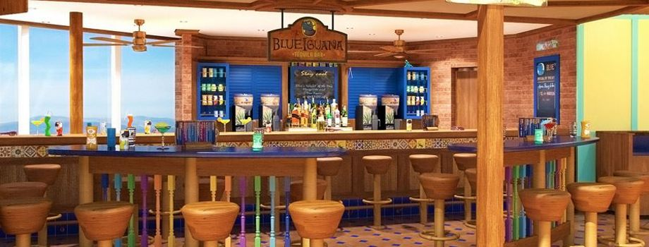 Бар Blue Iguana Tequila Bar