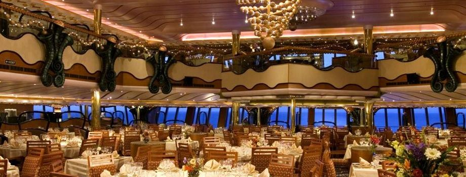 Основной ресторан Gold Pearl Restaurant